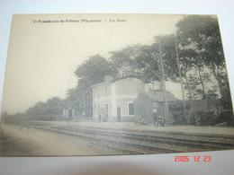 C.P.A.- Saint Fraimbault De Prières (53) - La Gare - 1910 - SUP (AH8) - Other Municipalities