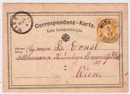 Österreich, 1872, Glasklar , Gallizien!,   A636 - Briefe U. Dokumente