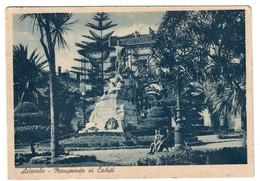Acireale Monumento Ai Caduti Viaggiata 1950 Cod.bu.131 - Acireale
