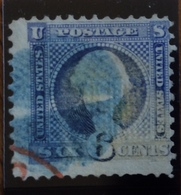 U.S.A.  U.S. POSTAGE  6 Cents Washington - 1845-47 Emissioni Provinciali