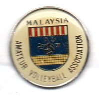 Pin's VOLLEYBALL FEDERATION DE MALAYSIE - Volleyball