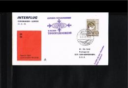1973 - Interflug Fair Flight Kopenhagen - Leipzig [JD091] - [6] Oost-Duitsland