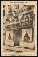 BRUXELLES = L'EPAULE DE MOUTON - CHANTRAINE = RUE DES HARENGS 16 - Cafés, Hôtels, Restaurants