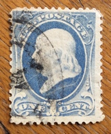 U.S.A.  U.S. POSTAGE  One Cent 1870 - 1845-47 Emissions Provisionnelles