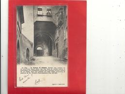 """LE PUY . LE PASSAGE DE L'HOPITAL + LONG HIST . AFFR AU VERSO + CACHET """" ORIGINE RURALE """" AU VERSO . 2 SCANES - Le Puy En Velay"""