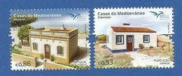 Portugal  2018 , Casas Do Mediterräneo - Compl. Satz - Postfrisch / MNH / (**) - Nuovi