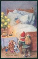 Artist Feiertag Gnome Zwerge Dwarf Teddy Santa Christmas B K W I Pc TC6450 - Feiertag, Karl
