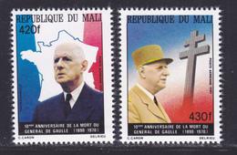 MALI AERIENS N°  401 & 402  ** MNH Neuf Sans Charnière, TB (D7452) Général De Gaulle - Mali (1959-...)