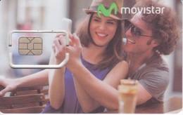 TARJETA GSM-SIM  DE ARGENTINA DE MOVISTAR 4G  (CHIP-PUCE) (chip Con Celo) - Argentina