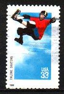 USA. N°2915 Oblitéré De 1999. Roller En Ligne. - Skateboard