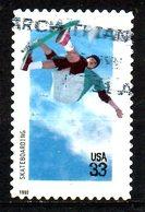 USA. N°2912 Oblitéré De 1999. Skateboard. - Skateboard