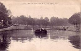 Lille Le Canal De La Deule Circulée En 1921 - Lille