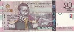 HAITI 50 GOURDES 2014 UNC P 274 NEW - Haïti