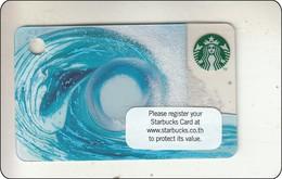 Thailand Starbucks Card Wellen - 2015 - 6119 - Gift Cards