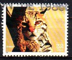 USA. N°2552 Oblitéré De 1996. Ocelot. - Félins