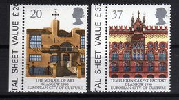 GB 1990 Glasgow European City Of Culture MNH - Idee Europee