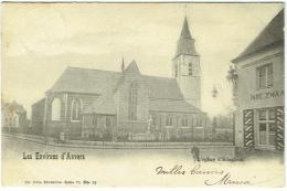 Environs D'Anvers. Edegem/Edeghem. Eglise/Kerk. - Edegem