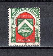 ALGERIE N° 254  OBLITERE  COTE  0.20€  ARMOIRIE - Algérie (1924-1962)