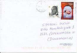 Spain Cover Sent To Denmark 31-1-2011 - 1931-Aujourd'hui: II. République - ....Juan Carlos I