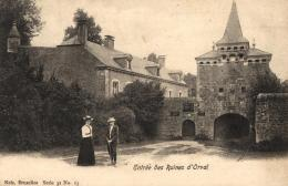 BELGIQUE - LUXEMBOURG - FLORENVILLE - ORVAL - Entrée Des Ruines D'Orval. - Florenville