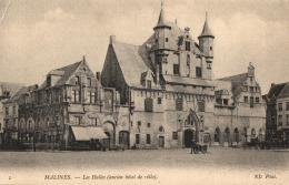 BELGIQUE - ANVERS - MALINES - Les Halles (Ancien Hôtel De Ville).  (n°1). - Malines