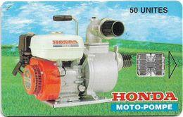 Madagascar - Telecom Malagasy - Honda Moto-Pompe - 50Units, SC7, 5.000ex, Used - Madagascar