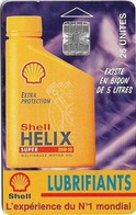 Madagascar - Telecom Malagasy - Helix Shell Oil - 25Units, SC7, 10.000ex, Used - Madagascar