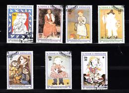 Sao Tome En Principe 1981 Mi Nr 714 - 720 Pablo Picasso, Jaar Van Het Kind - Sao Tome En Principe