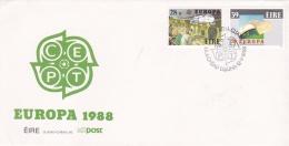 Ireland 1988 FDC Europa CEPT (DD21-19) - Europa-CEPT