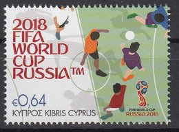 CYPRUS 2018  Football. FIFA World Cup In Russia MNH - 2018 – Russia