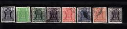 India 1967 Mi Nr  156 - 163 Dienstzegels -1 - Dienstzegels