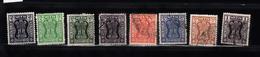 India 1967 Mi Nr  156 - 163 Dienstzegels -2 - Dienstzegels