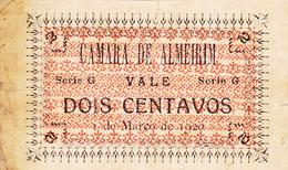 Portugal  5 Cédulas De Almeirim  2 Ctv-Séries -D-G-H-I-P - Portugal