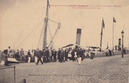"""SAINT-NAZAIRE - Promenade à Bord Du """"Nantes-Lorient"""" - L'Embarquement - Saint Nazaire"""