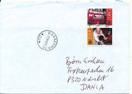 Poland Cover Sent To Denmark Warszawa 6-6-2007 - 1944-.... Republic