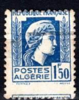 ALGERIE - N° 214 A Obl  PIQUAGE à CHEVAL (1944) - Argelia (1924-1962)