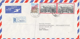 South Africa Registered Air Mail Cover Sent To Germany Regent Road Sea Point 2-12-1979 - South Africa (1961-...)