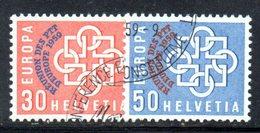 963 490 - SVIZZERA 1959 , Unificato N. 632/633  Usato .  Europa - Usati