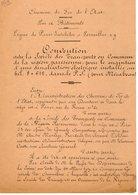 VP12.712 - PARIS - Acte De 1924 - Entre La Cie Des Chemins De Fer... & La Société Des Transports En Commun (Omnibus ) .. - Chemin De Fer