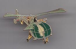 Pin's  Hélicoptère  Réf 6374 - Avions