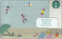Thailand Starbucks Card  Beach - 2016 - 6136 - Gift Cards