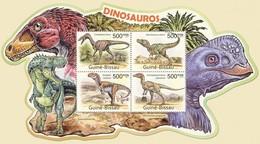 Guinea Bissau 2011 Prehistoric Animals Dinosaurs Klb MNH - Prehistorics
