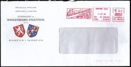 France Saverne 2006 / Wangenbourg - Engenthal / Church, Castle / Machine Stamp / EMA - Marcophilie (Lettres)
