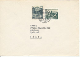 Liechtenstein Cover Sent To Switzerland Vaduz 15-12-1944 - Liechtenstein