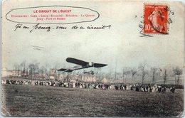 Le Circuit De L'Ouest - Année 1913 - Itinéraire - Caen-Lison -Ecouché - Mézidon - La Queue - Jouy - Fort Et Reims (avion - ....-1914: Précurseurs
