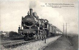 Les Chemins De Fer Français - Paris Brest , Rapide à 100 Kms à L Heure Machine N°2797 - Trains