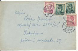Czechoslovakia Cover 21-5-1946 - Czechoslovakia