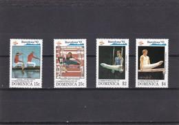 Dominica Nº 1418 Al 1421 - Dominica (1978-...)