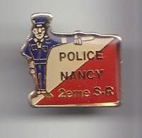 Pin's Police Nancy  2 Eme S.R. Réf 5972 - Police