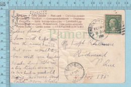 CPA Photographique -..... My Verry Own Embossed - Used In 1910 Stamp  USA 1¢ Send To Richmond Quebec - Fantaisies